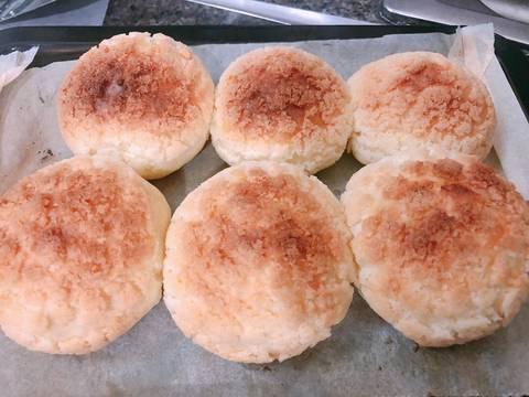 Bánh su kem vỏ giòn nhân trà sữa - Choux au craquelin bước làm 6 hình
