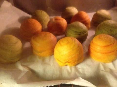 Bánh trung thu ngàn lớp kiểu Triều Châu (Teochew Spiral Yam Moon Cake) recipe step 7 photo