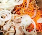 Hình ảnh bước 4 Gỏi Bắp Chuối Thịt Tai Đầu Heo