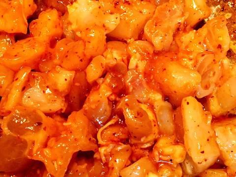 Gân Bò Xào Ớt Sả Tế recipe step 3 photo