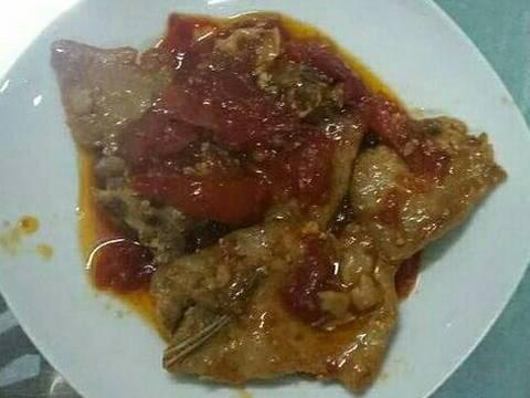 Thịt cốt lếch sốt cà recipe step 4 photo