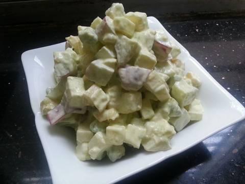 Salad trái cây recipe step 2 photo