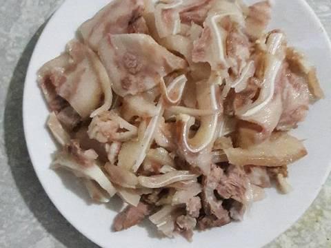 Nộm rau muống tai lợn recipe step 2 photo