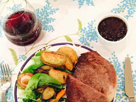 Sốt rượu vang cho thịt bò bít-tết recipe step 3 photo