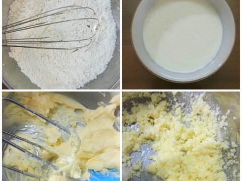 Bánh bông lan bí đỏ và quả khô recipe step 2 photo