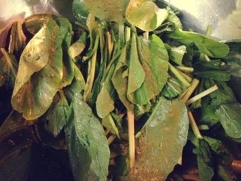 Canh khoai sườn non rau cải recipe step 6 photo