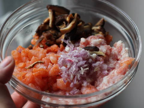 Đậu hấp tôm thịt sốt chua ngọt recipe step 1 photo