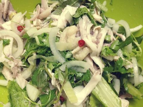 Nộm gà rau thơm recipe step 7 photo