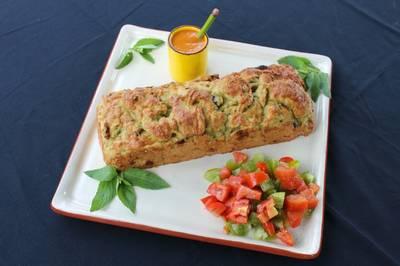 Cake au Poulet et aux légumes séchés