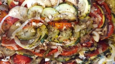 Tian aux légumes d'été