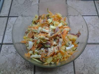 Salade de pomme de terre à la japonaise