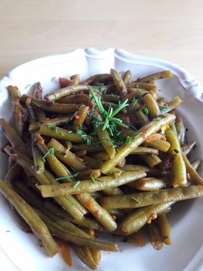 Haricots verts à l'italienne