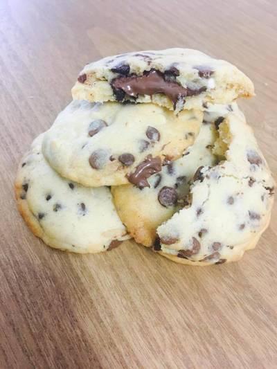Cookies moelleux coeur nutella
