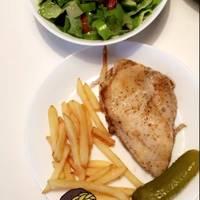 صدور دجاج مع البطاطا