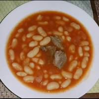 حساء الفاصوليا البيضاء