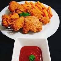 كرسبي الدجاج 😋