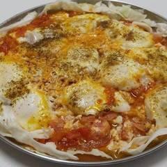 صورة لوصفة بيض بطماطم مقلية Egg with fried tomatoes
