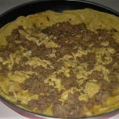 صورة لوصفة فطور بيض مقلي