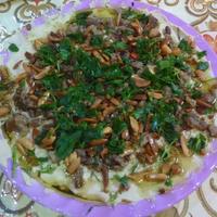 حمص بطحينه