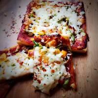 بيتزا التاوه بدون فرن