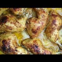 صينية دجاج وبطاطا