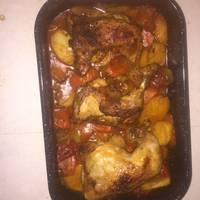 صينية الدجاج بالفرن