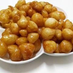 صورة لوصفة لقيمات بجبن الكيري