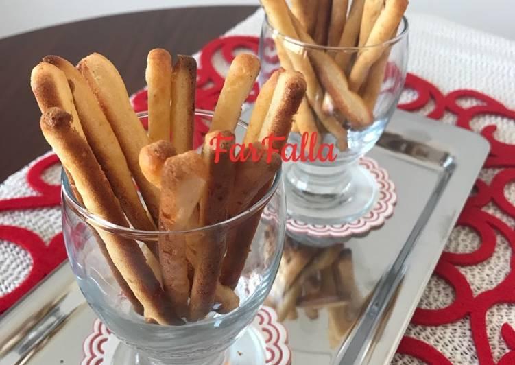 أصابع الخبز بالجبن / Bâton Salé