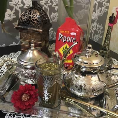 مشروب المتة لعيون أم عمر الغاليه 🌹
