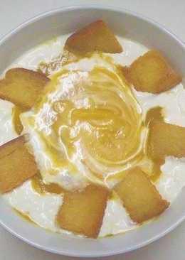 شوربة البطاطا الحلوة مع كريما الصويا#غداء_سريع
