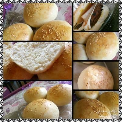 خبز البرغر 😋