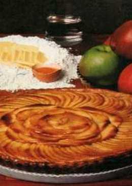 طريقة عمل كيكة التفاح بالعسل