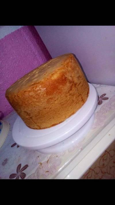 الكيكه الاسفنجيه السهله