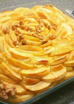 فطيرة التفاح 🍎🍏