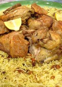 طريقة عمل الكبسة السعودي بالدجاج