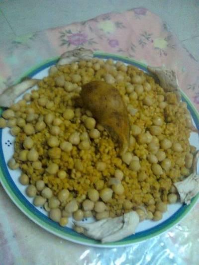 طريقة عمل مفتول فلسطيني بالدجاج