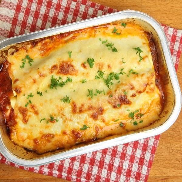 طريقة عمل اللازنيا  بالبشاميل اكلة ايطالية
