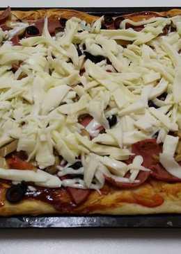 بيتزا الحبش المدخن