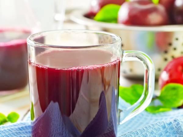 طريقة عمل عصير الخوخ المسلوق