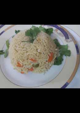 أرز بالخضار (صحي)👌👌