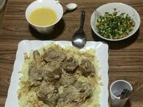فكرة اليوم ع الفطور رح تكون المنسف🍜