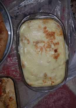 مكرونة الطيبين بصوص البطاطس والجبن