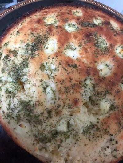 كيكة الزعتر والجبنة