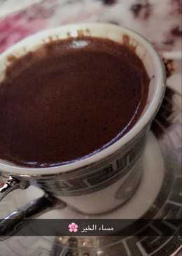 قهوة تركية بالنوتيلا 🍫☕️