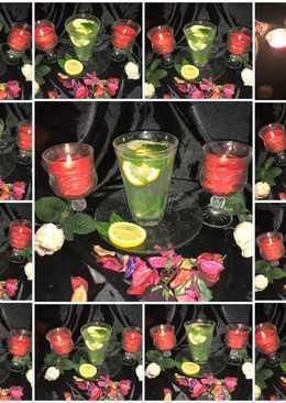 مشروب الليمون ونعناع🌱🍋