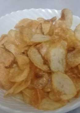 طريقة عمل بطاطس شيبس 269 وصفة بطاطس شيبس سهلة وسريعة كوكباد