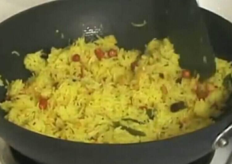 رز بالليمون.... من المطبخ الهندي منطقه كيرلا