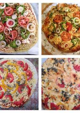 طريقة عمل بيتزا بتشهي رووووعه👌🏻😋