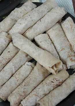 شاورما الدجاج بخبز الصاج