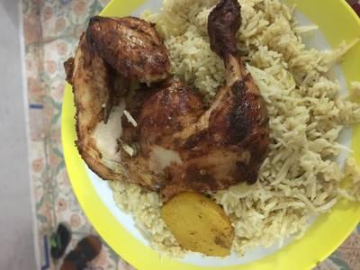 مندي دجاج بفرن المندي الكهربائي